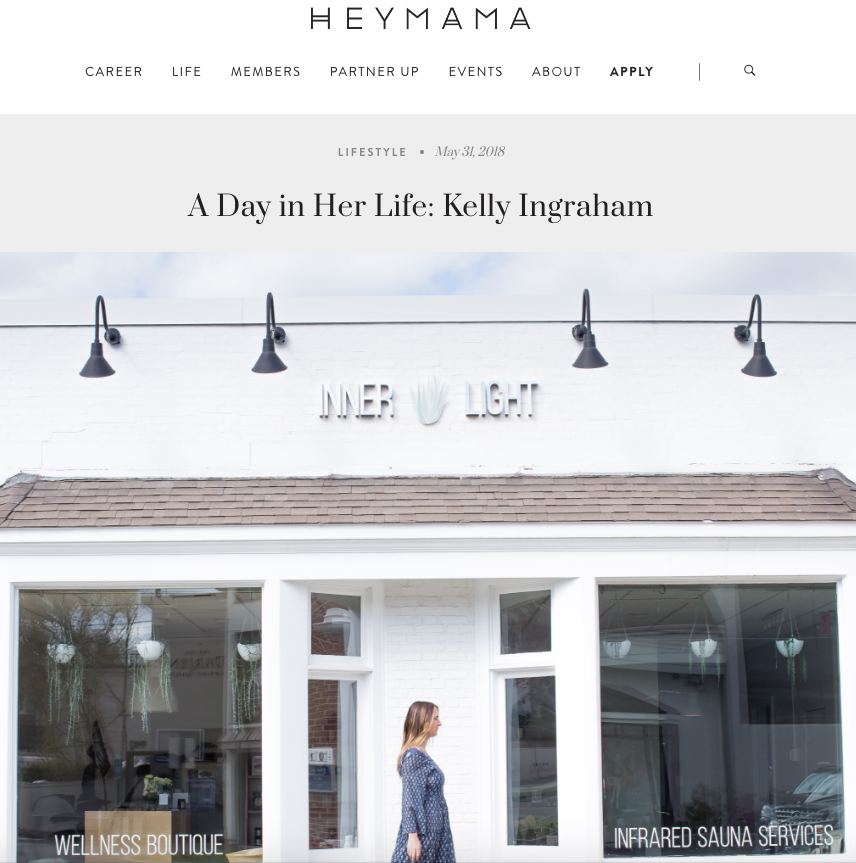 """A Day in Her Life - One of the common questions we get here at HEYMAMA is, """"how does she juggle it all?We know full well that the #juggleisreal..."""