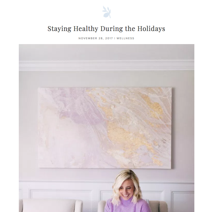 Staying Healthy During the Holidays - Weekly 25-minute infrared sauna sessions make me feel revitalized and..