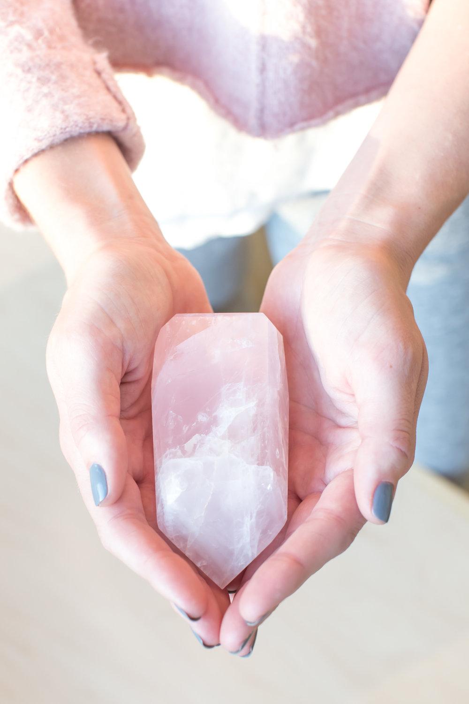 Inner Light Darien CT Crystals Rose Quartz
