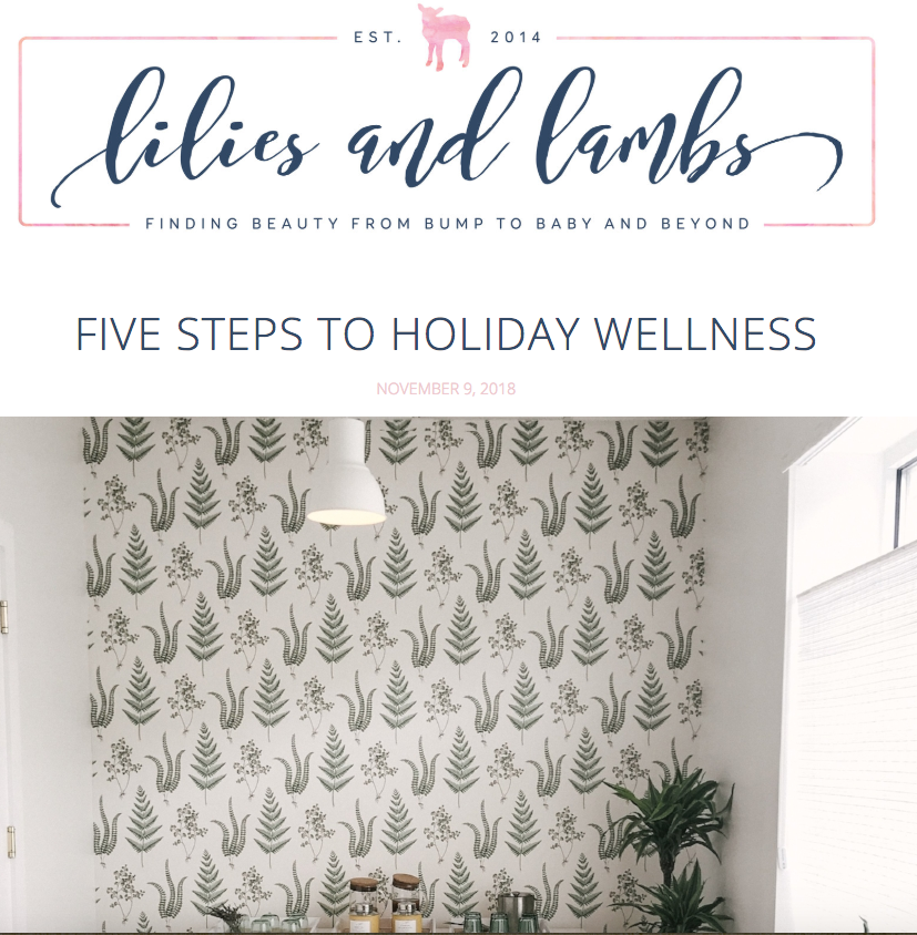 FIVE STEPS TO HOLIDAY WELLNESS - I came across Inner Light Wellness in Darien over the summer and became an instant fan. Inner Light is a beautiful space with private, full-spectrum infrared saunas- which provide healthy benefits….