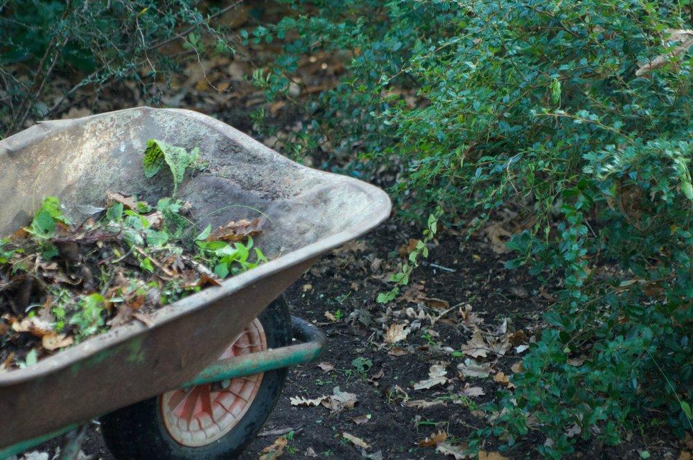 An image of a full wheelbarrow