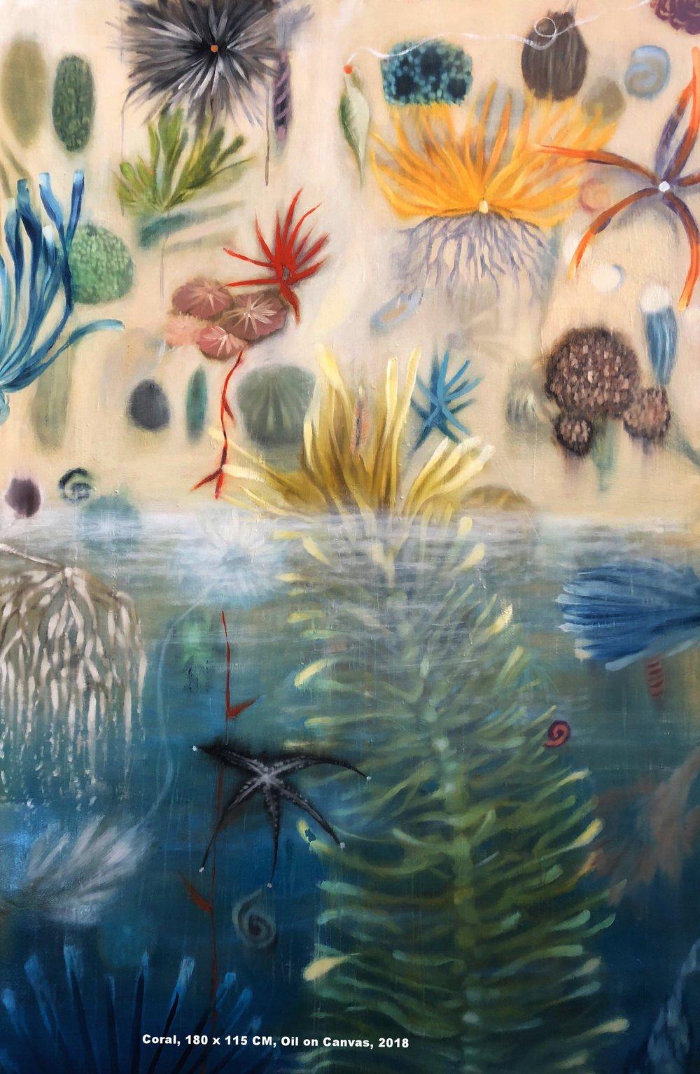 Coral, 180 x 115 CM, Oil on Canvas, 2018.jpg