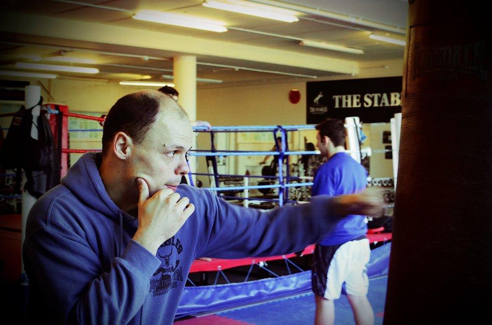 Andras Hizo, Boxing PT Brighton