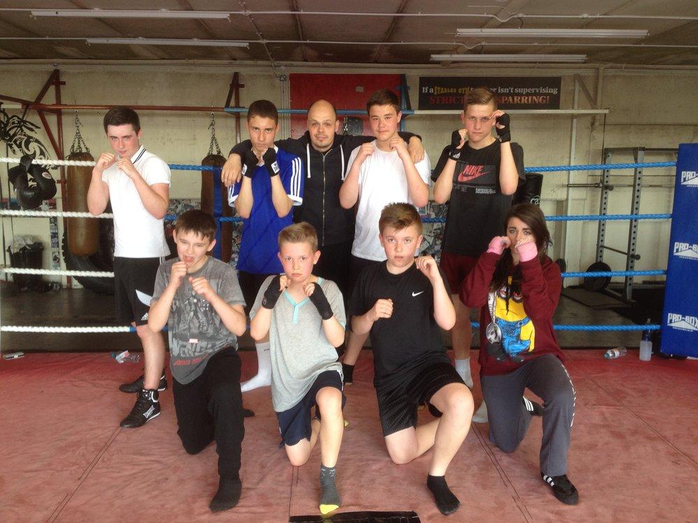 Team Hizo Kids Boxing Hove