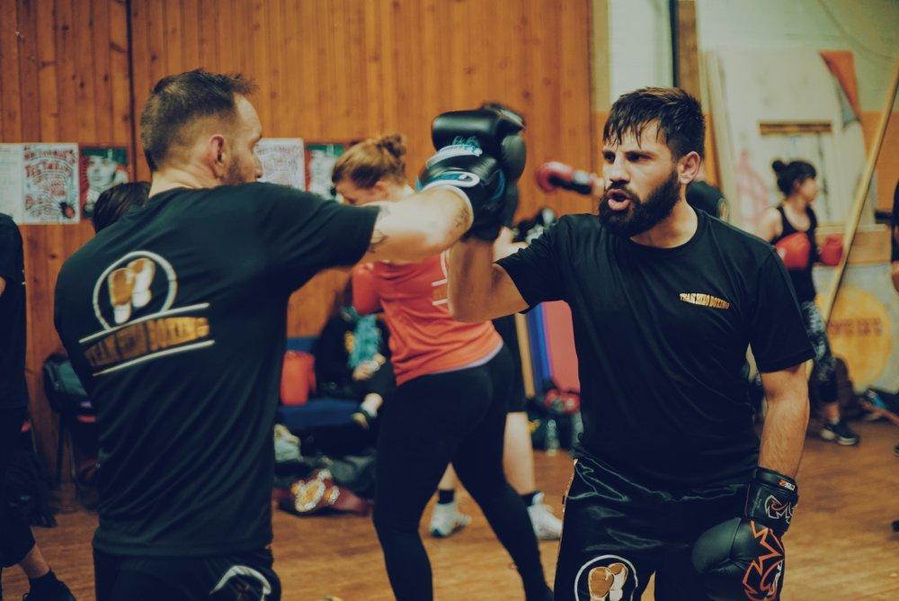 Team Hizo Boxing Training Brighton