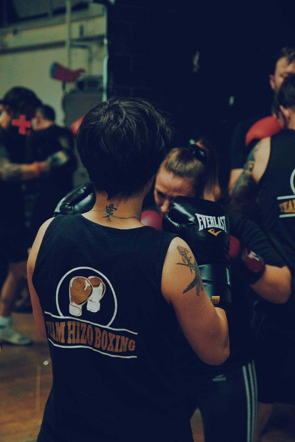 Team Hizo Boxing Classes Brighton