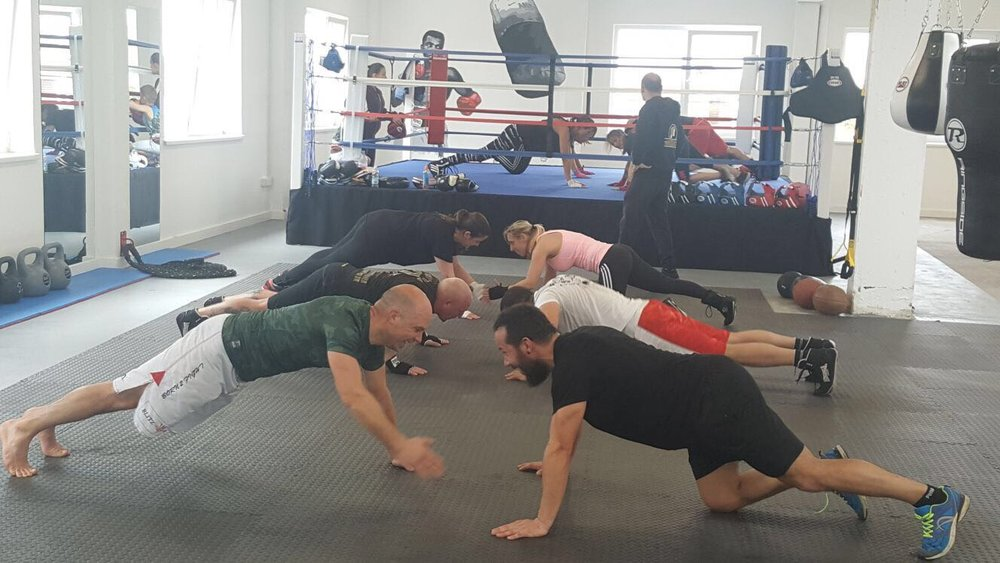 Team Hizo Boxing Circuit training Brighton