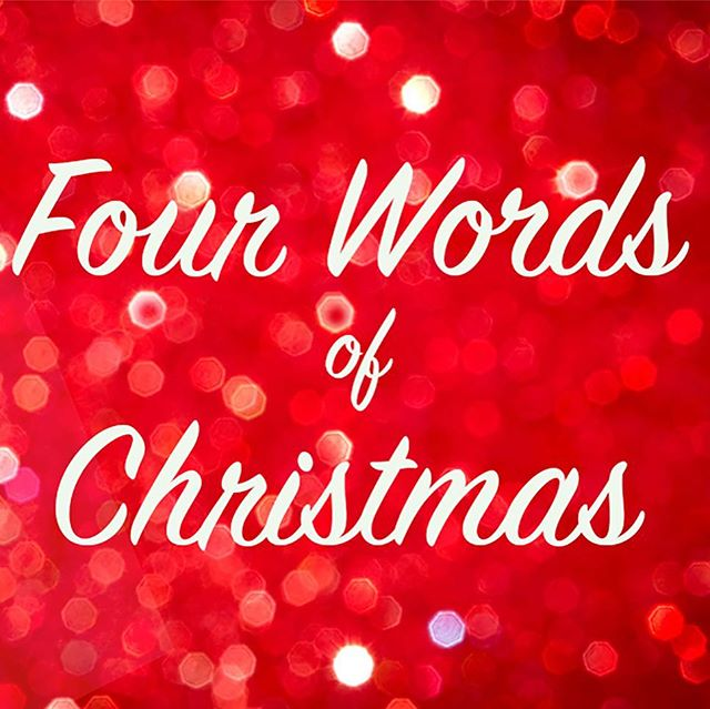Join us Sunday as Tim begins a Christmas Celebration sermon series!  We will be looking at Four Words that capture the Christmas Spirit.  We look forward to celebrating the birth of our Savior all month long!