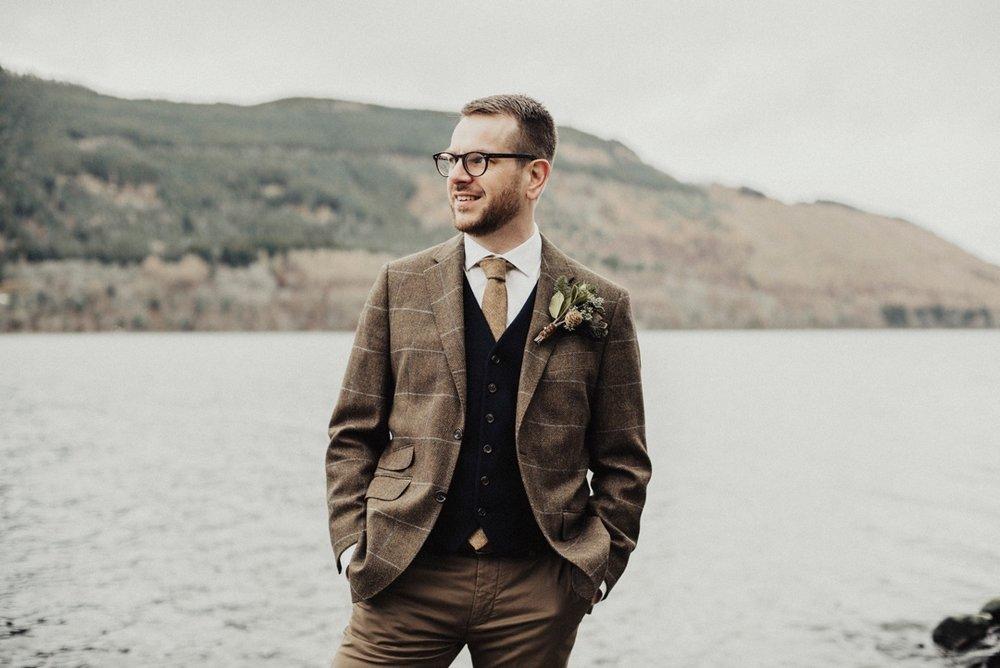 Small wedding Scotland