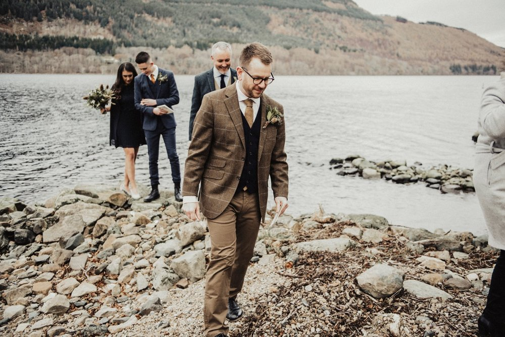 tying the knot Scotland