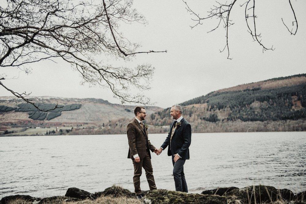 intimate wedding Scotland