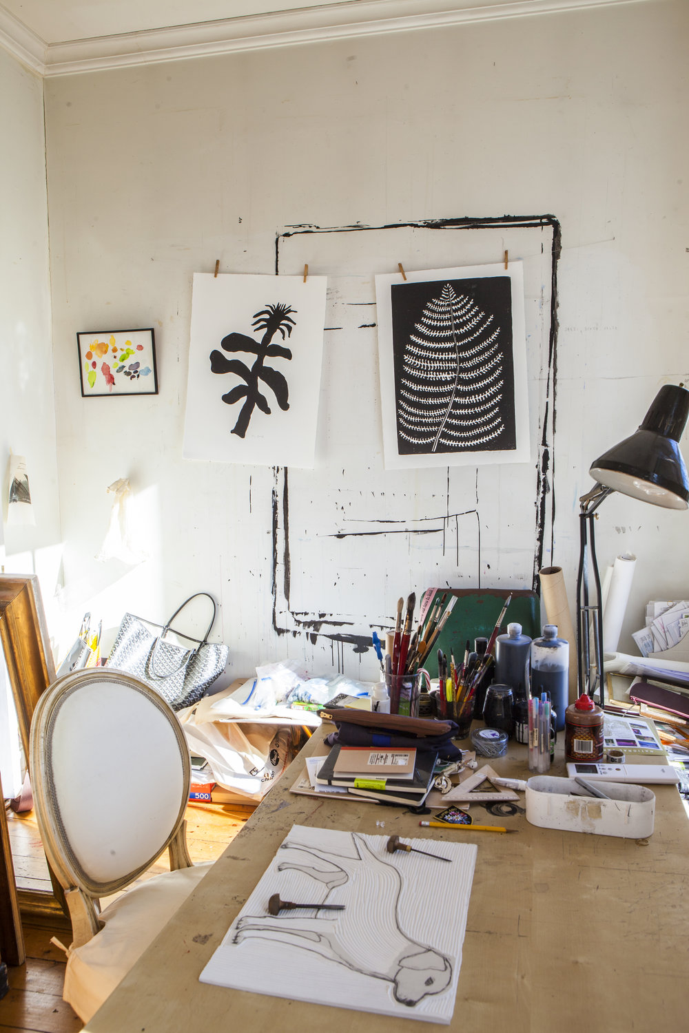 Hugo Guinness Prints Studio Brooklyn