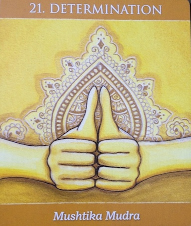 Image from mudras for Awakening the energy Body by Alison Denicola