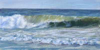 On the Rocks no. 2 Sandra Kavanaugh pastel