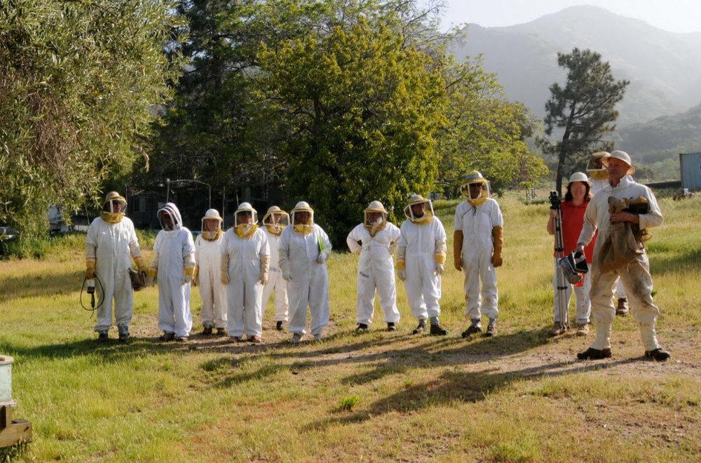 LACBA Beekeeping Class 101 2009.jpg