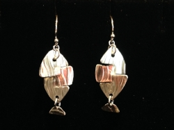 Silver Fish Earrings -