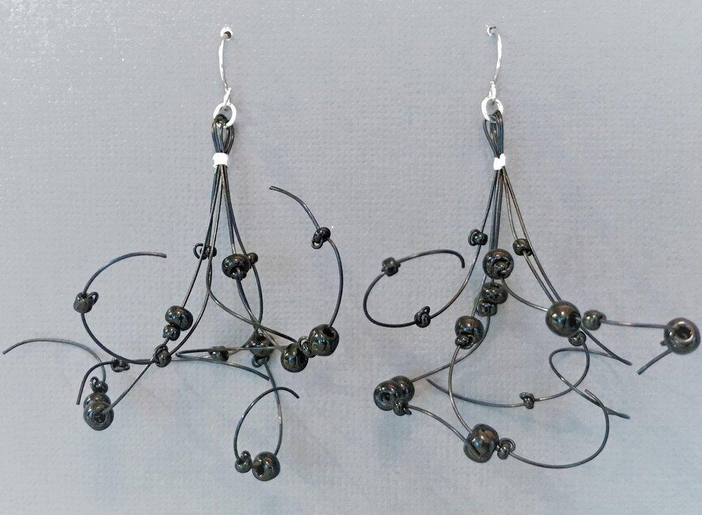 For the Artful Fashionista: - Beaded Tassel Earrings