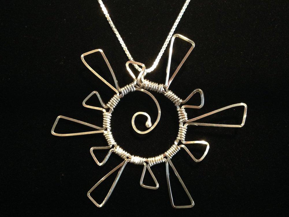 For your Shining Star: - Starburst Pendant