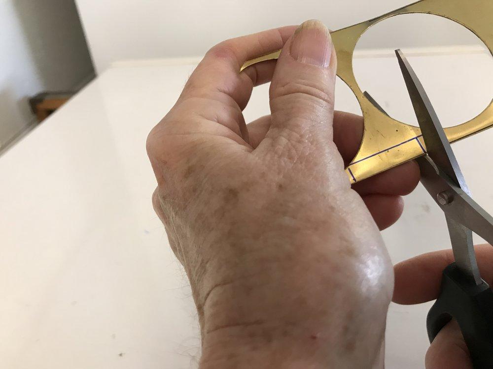 Make brass strips
