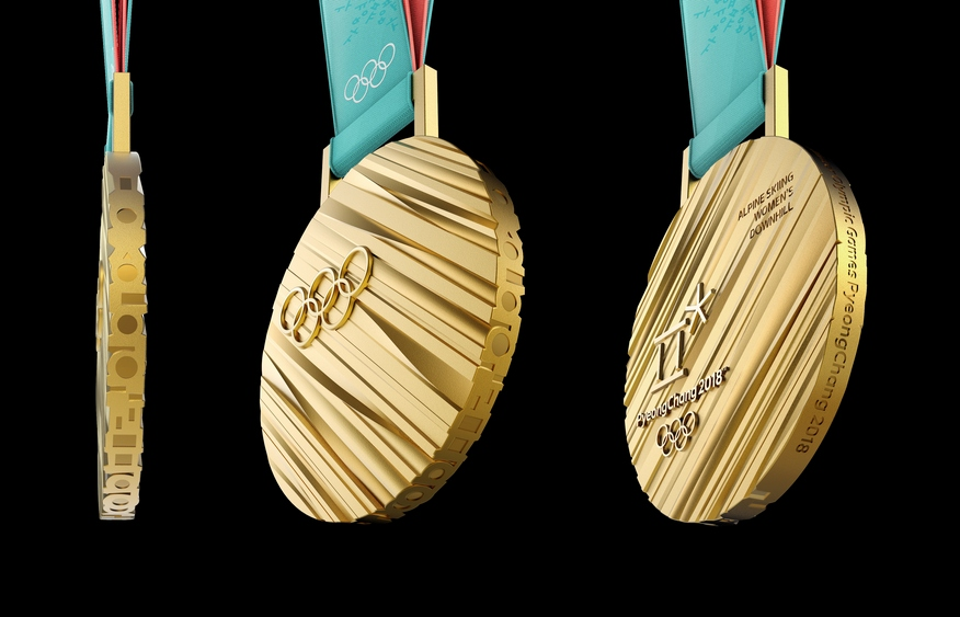 2018 Olympic Medals