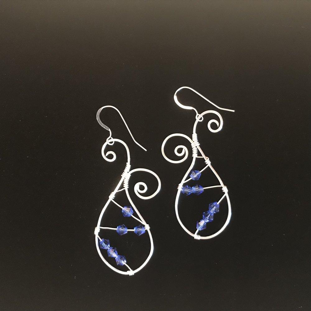 Trendy Paisley Pattern Earrings