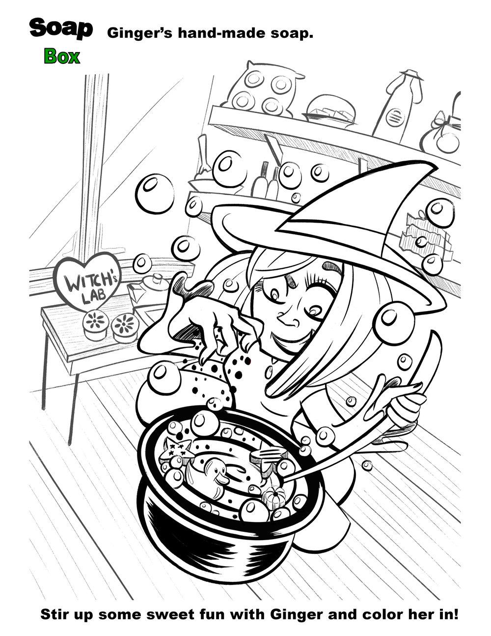 gingerjpg - Coloring Book Activities