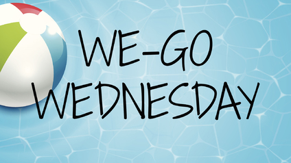 WE-GO Wednesdays are back for the summer! All middle and high school students are invited to be a part of a special day activity each Wednesday from June 7th to July 12th. You can find this summer's schedule below. Sign up to be a part of the fun!