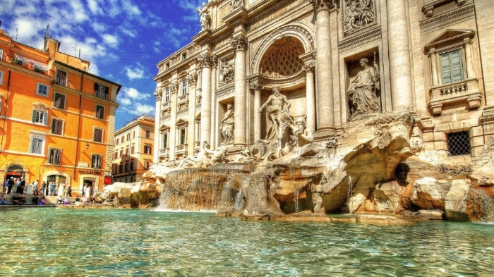 Trevy Fountain, Italy