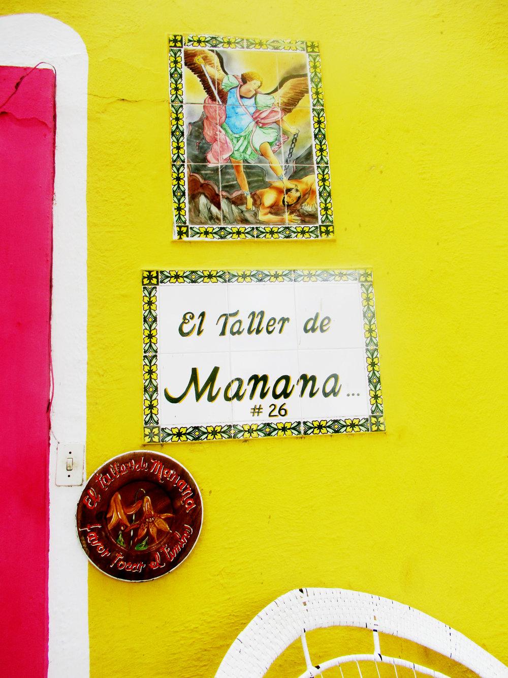 EL TALLER DE MANANA