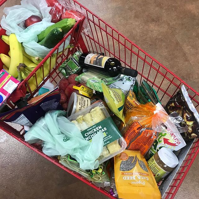 "Any guesses where I'm spending my morning?! 🛒 Working on a BIG blog post to share all our @traderjoes favorites for #simplesavvy, toddler approved, as healthy as we can manage these days, ""wait, I have to pack lunches EVERYDAY?!"" meals & snacks 🛒 So don't miss out! Sign up for my newsletter w/the link in my bio ☝🏼"