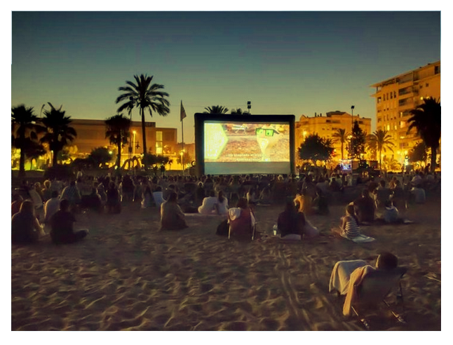 Cinema na Praia - Mostra de Filmes