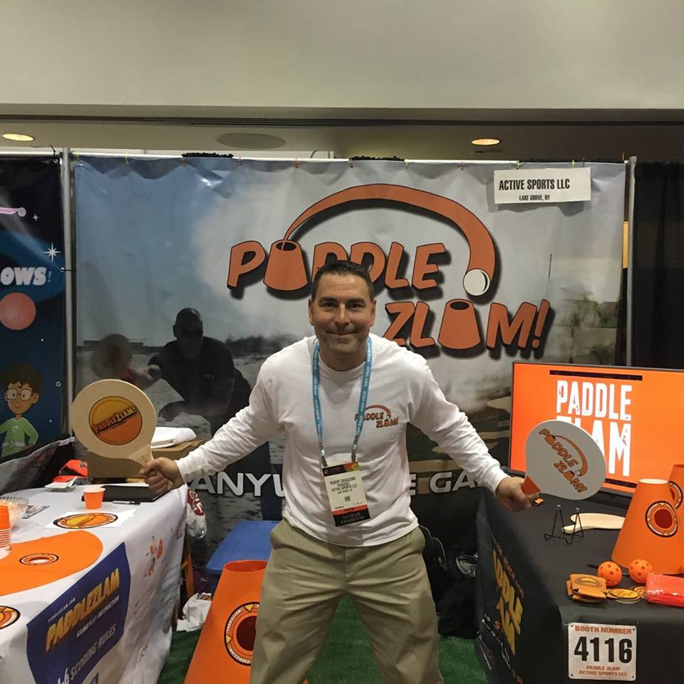 Robert DiGiacomo/ Owner-Active Sports LLC./PaddleZlam -