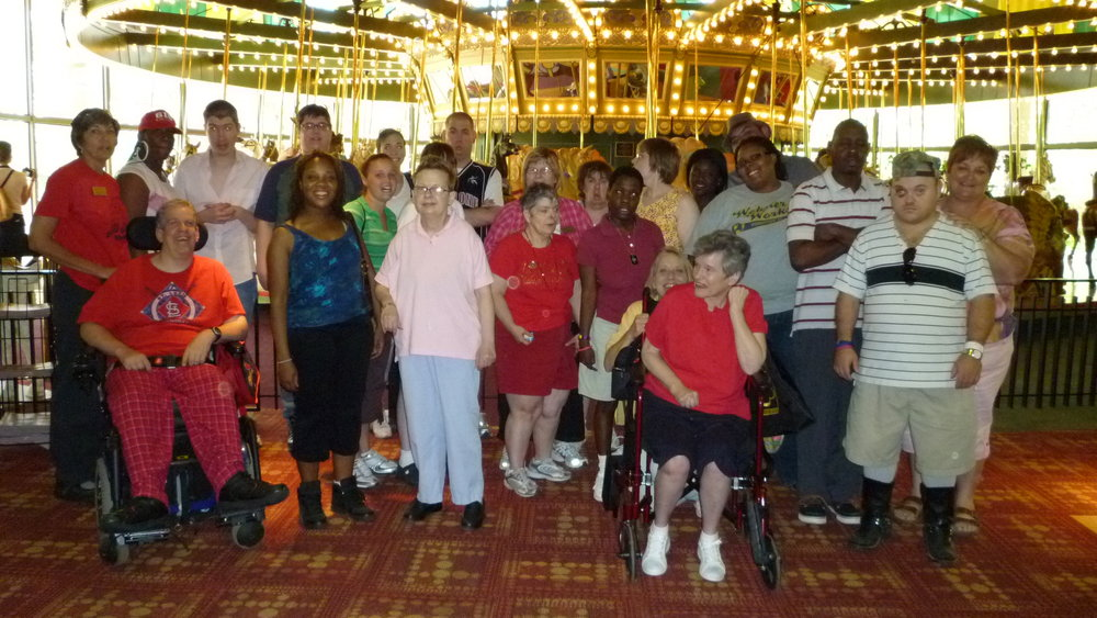 Sunnyhill University Participants had fun taking a trip to the Butterfly House.