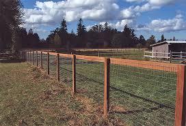 Non-Climb Wire Fence