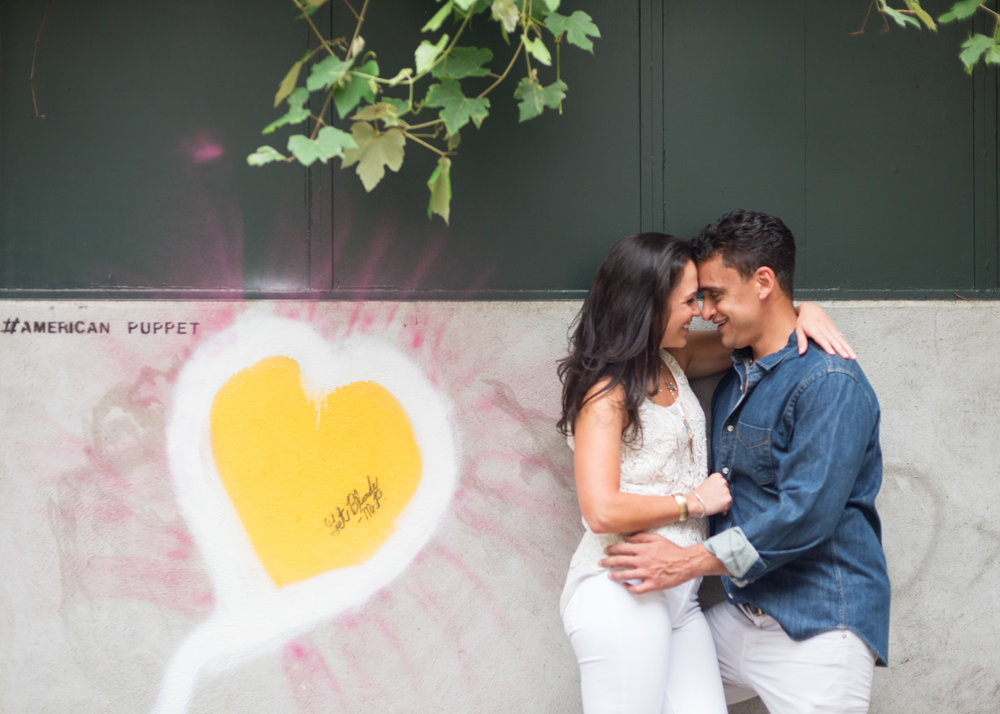 Graffiti Engagement Photography