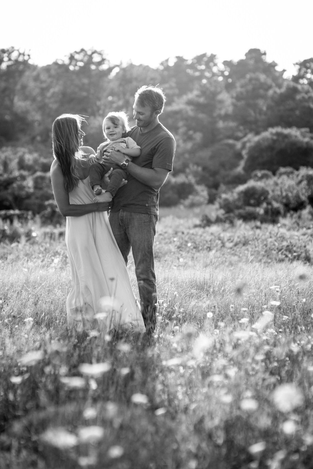 Family Wildflower Photo Session
