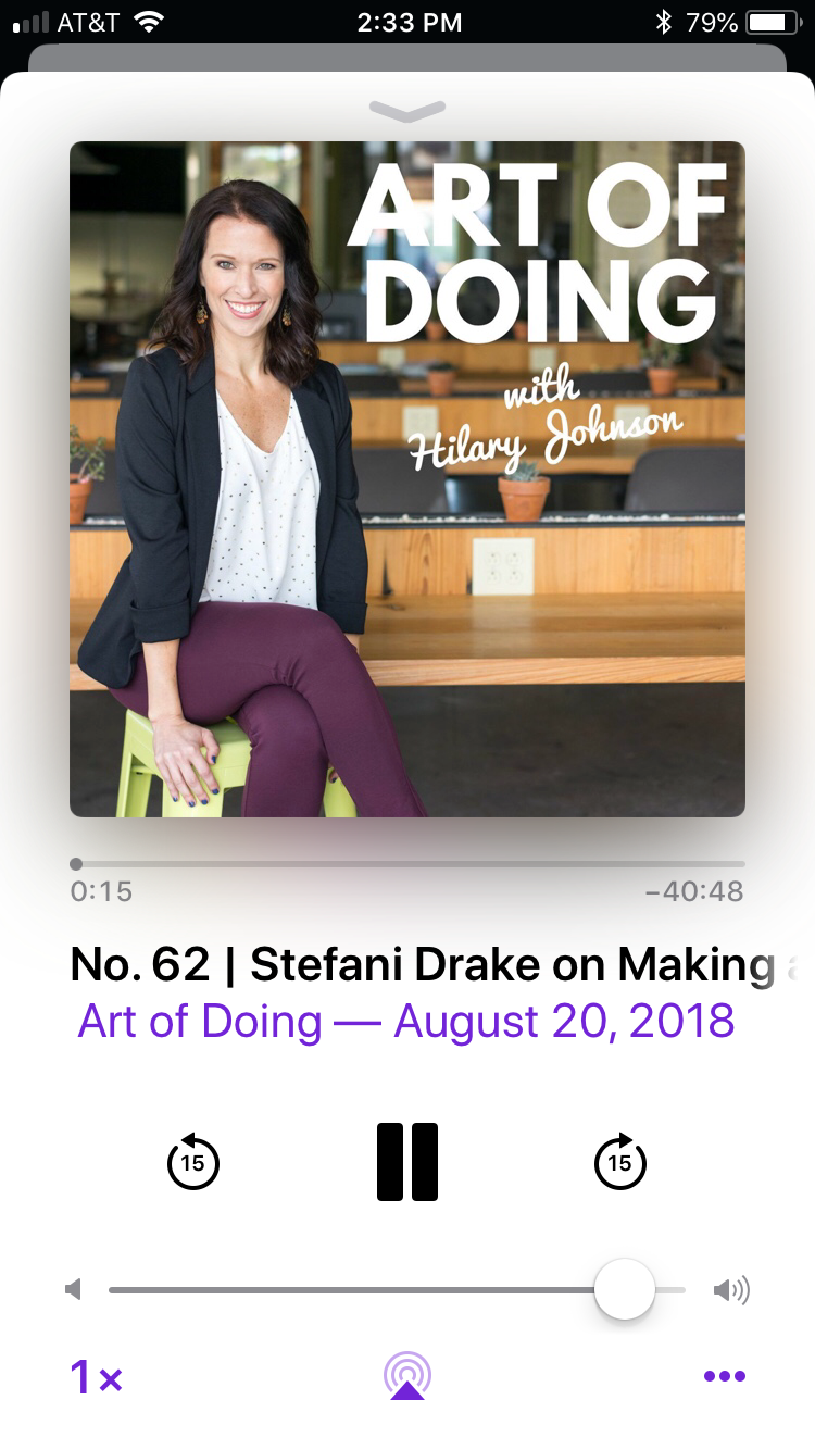 Hilary Johnson interviews Stefani Drake