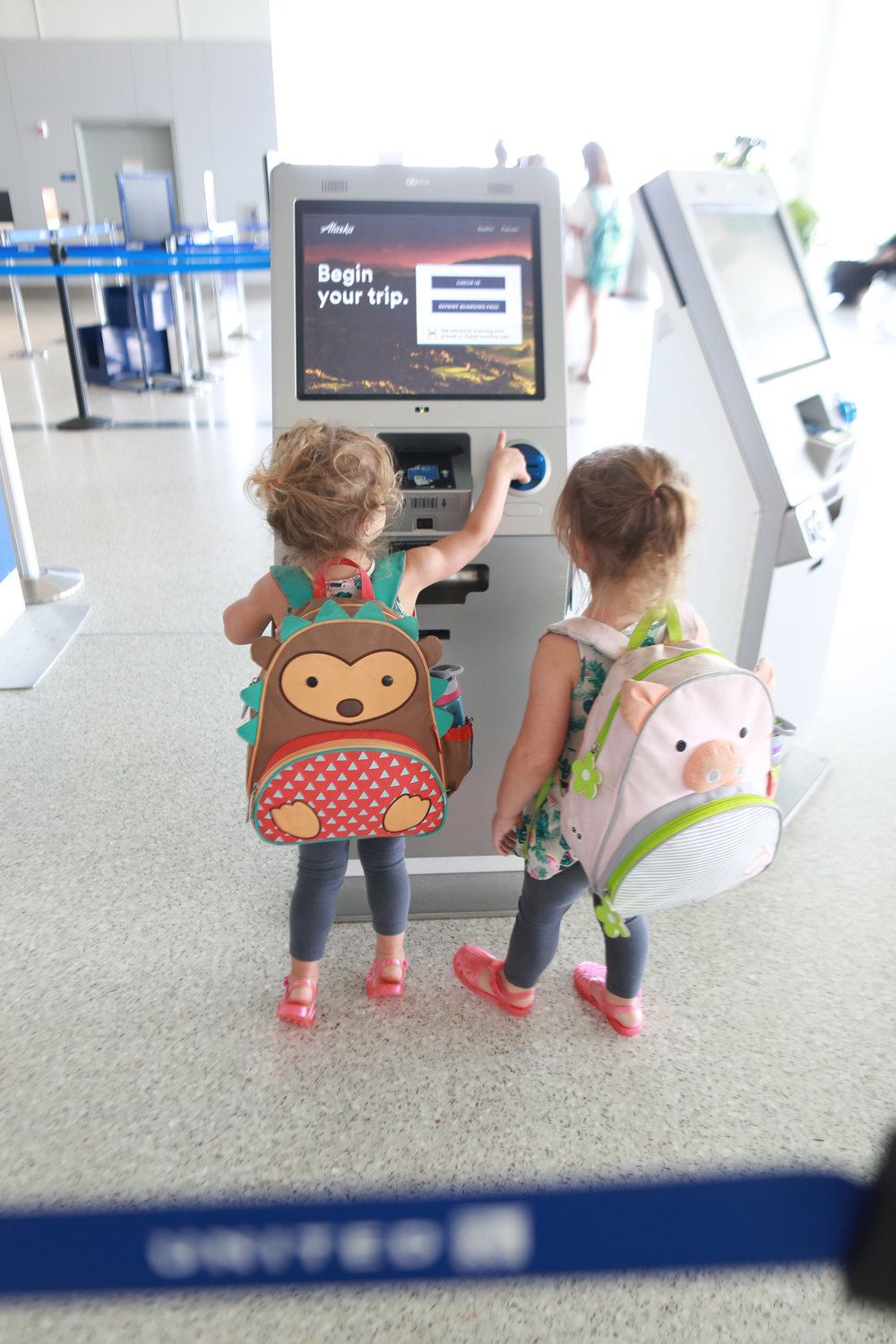 Parennial Travel: Flying with Twins