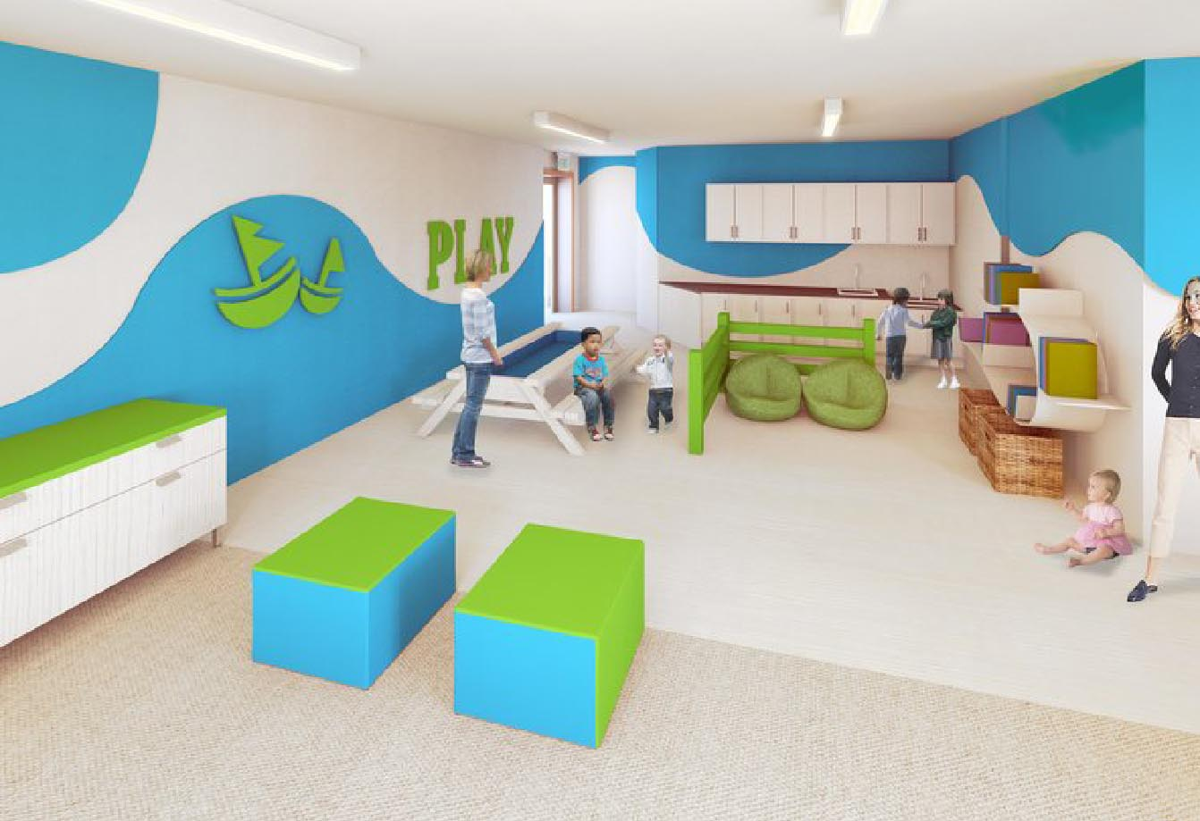 Greenapple Humbercrest Kids Cpartners Architects