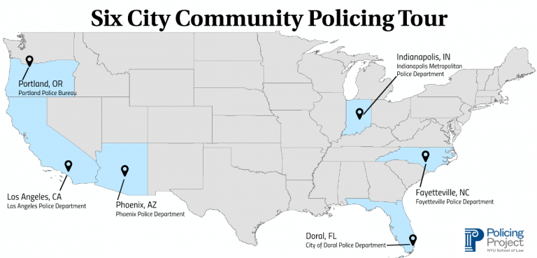 image by Nathan Yaffe, © Policing Project