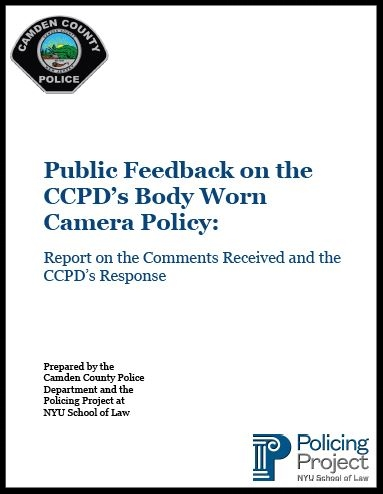 Policing Project Report with the Camden County Police Department