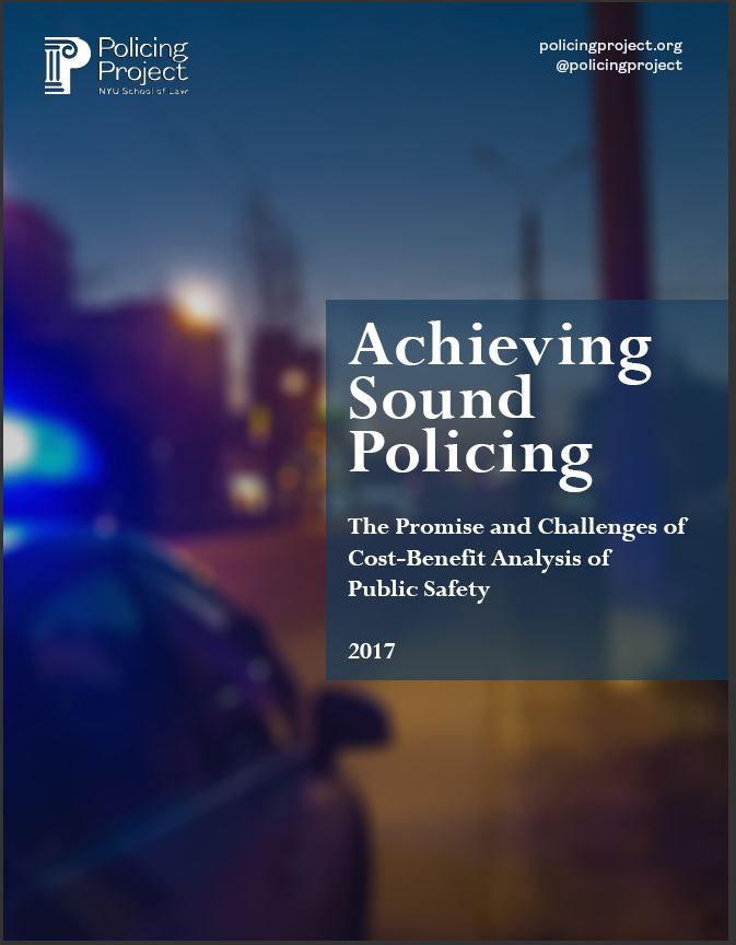 Read the Policing Project Phase I Report here