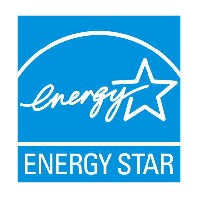 The light blue Energy Star logo.