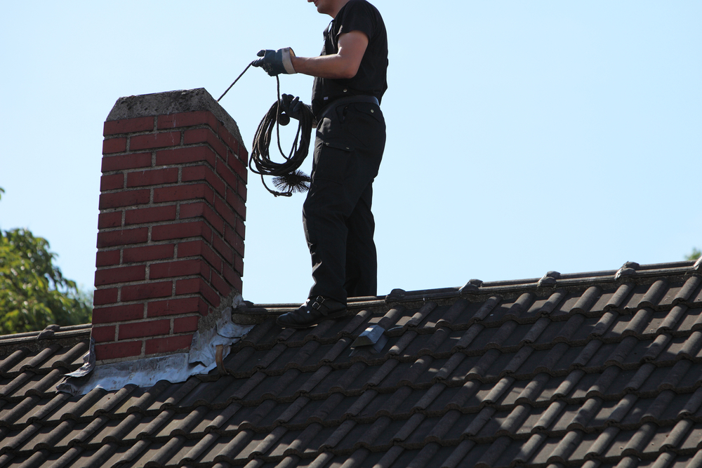 mean cleaning a chimney