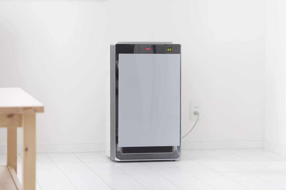 Dehumidifier in a room