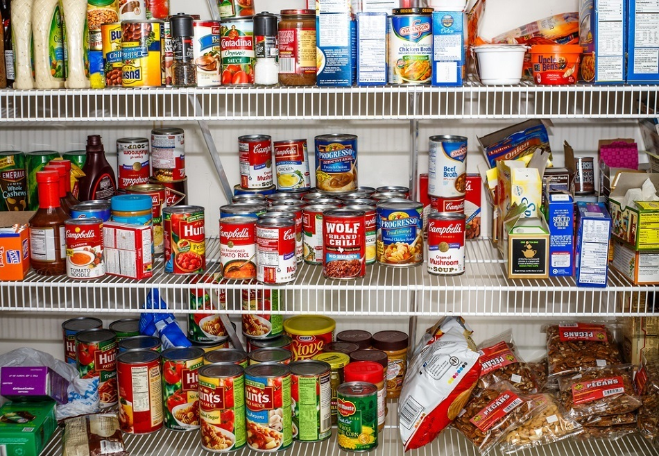 Tips for Organizing a Kitchen Pantry -- Credit Darryl Brooks Shutterstock