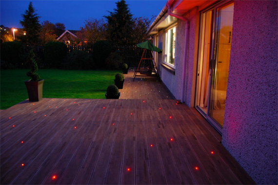 Outdoor Fiber Optic Lighting from HouseLogic