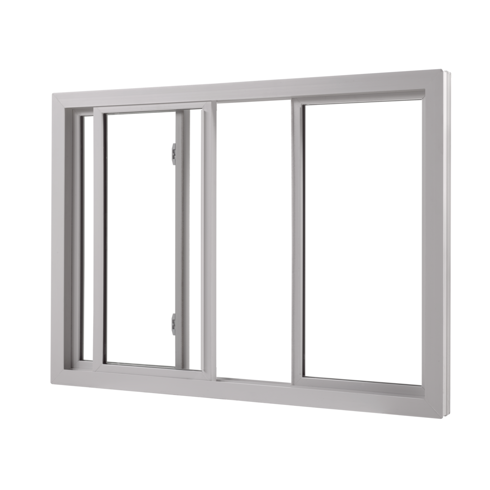 Wallside Windows Center Vent Sliding Window