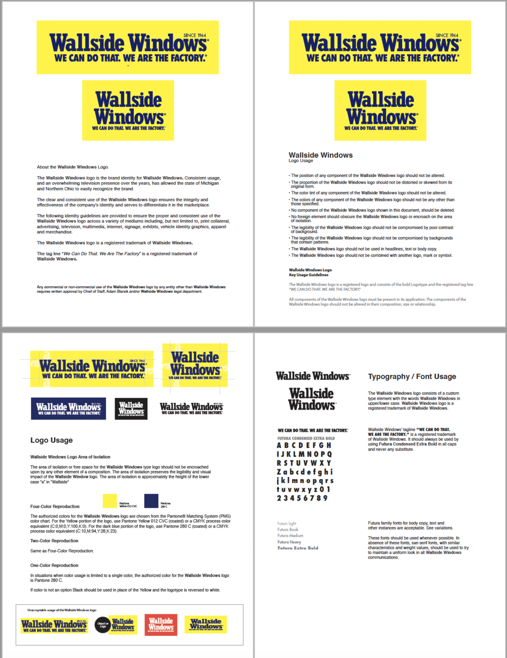 View the Wallside Windows Logo Style Guide (PDF)