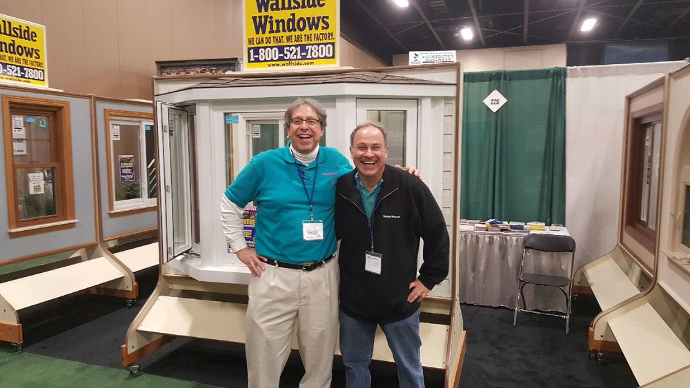 "Steve Weisman, one of our Wallside sales representatives in Toledo is a self-confessed ""window geek!"""